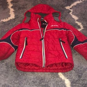 Boys size 5/6 red winter jacket